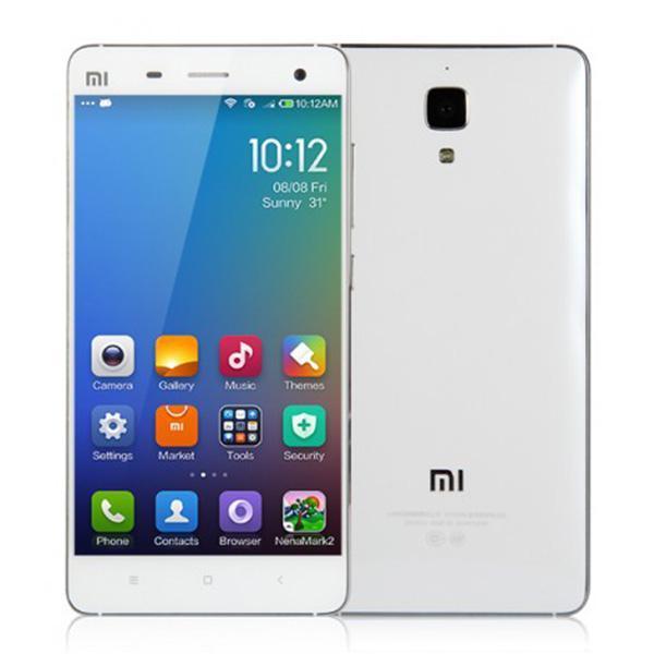 """Smartphone 5"""" Xiaomi Mi4 - 4G, RAM 2 Go, ROM 16 Go, Blanc"""