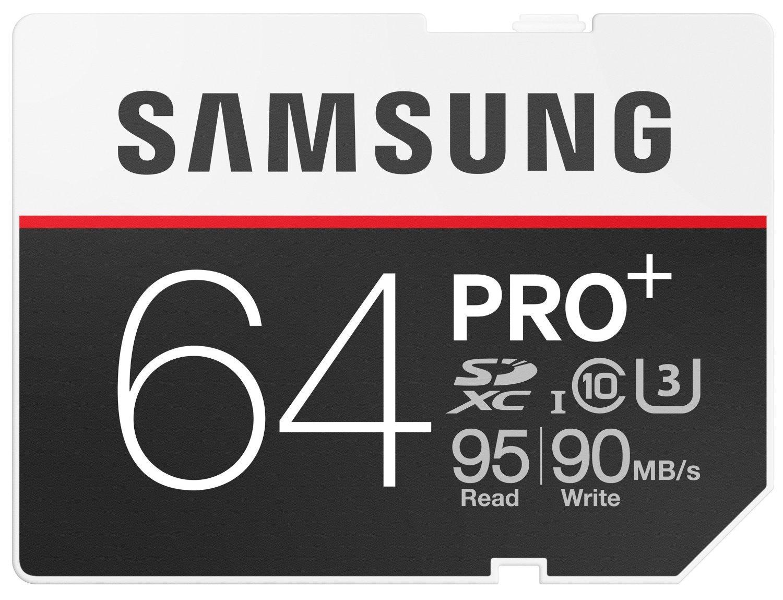 Carte SDXC Samsung Pro+ 64 Go