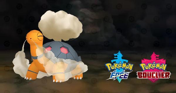 Chartor de Kōhei Sakurai offert sur Pokémon Epée & Bouclier (Dématérialisé)