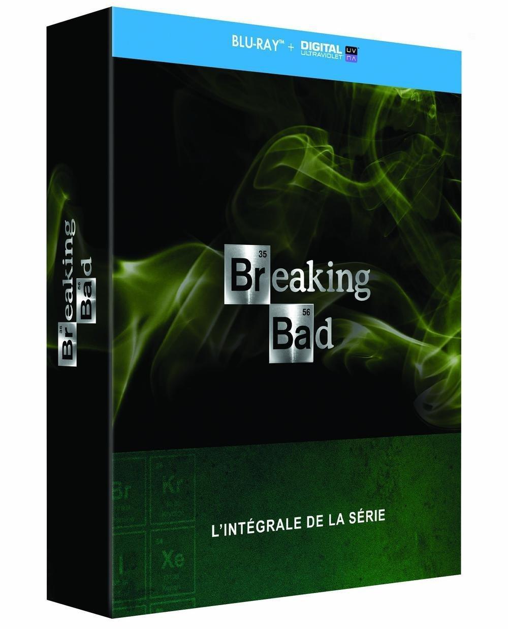 Coffret Intégrale Breaking Bad - DVD à 24.99€ et Blu-Ray