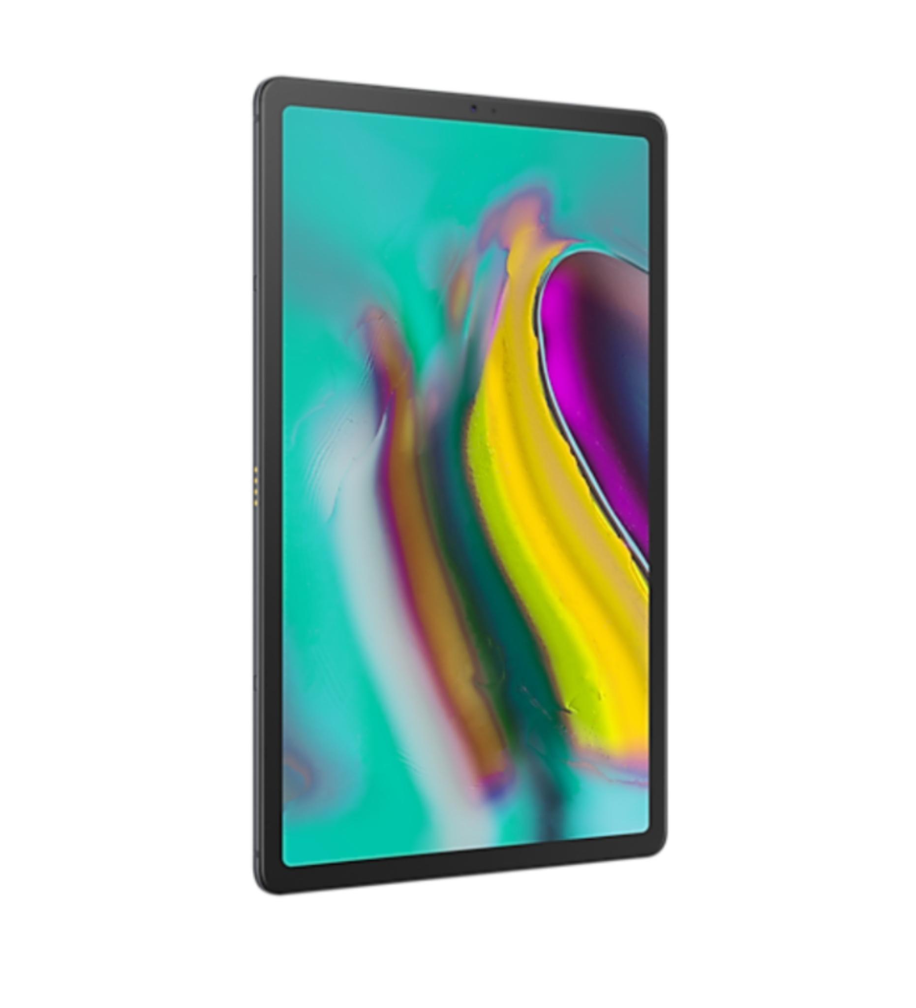"""Tablette 10.5"""" Samsung Galaxy Tab S5e - Wifi + 4G, WQHD+ AMOLED, SnapDragon 670, 6 Go RAM, 128 Go, Android 11, Noir (via ODR de 100€)"""
