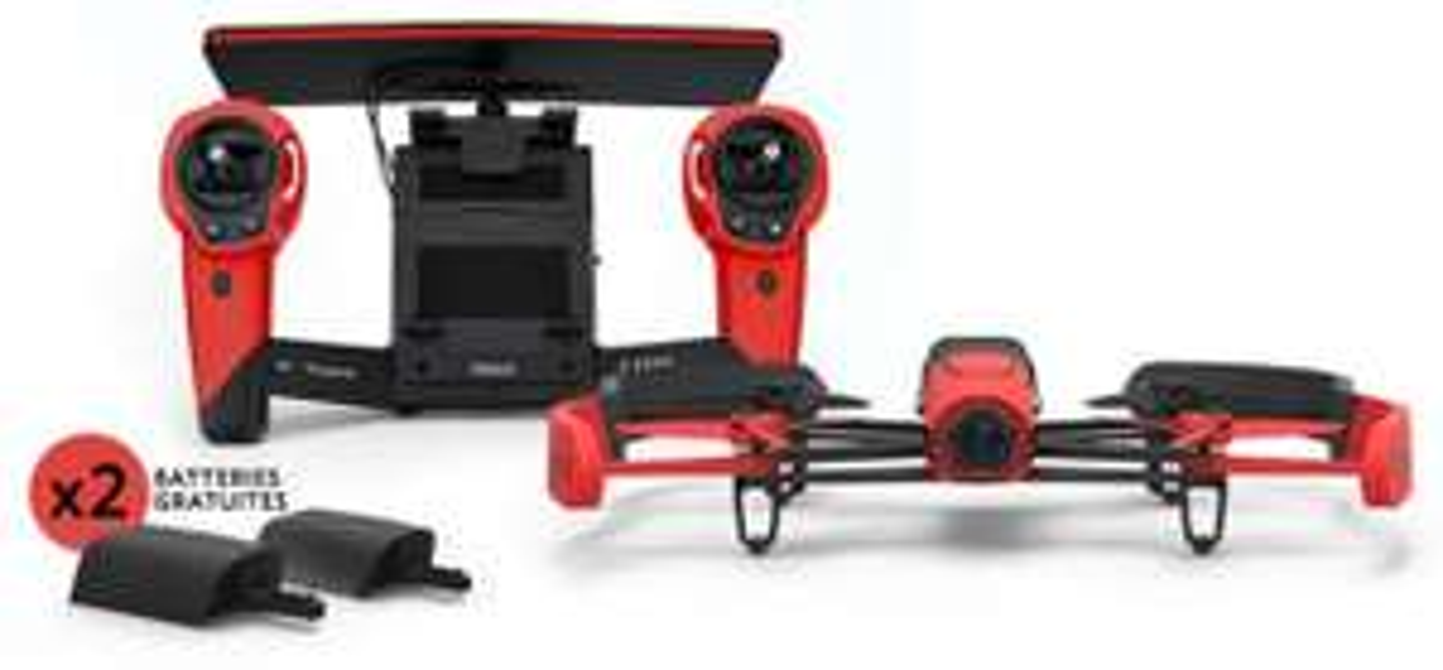 Drone  Parrot Bebop Skycontroller + 2 Batteries