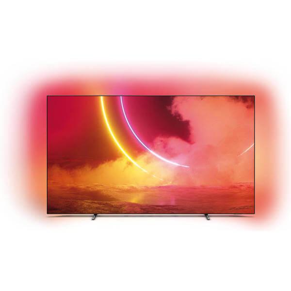"TV OLED 55"" Philips 55OLED805 - 4K UHD, Smart TV, Ambilight (Frontaliers Suisse)"