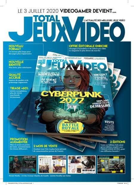 Abonnement de 12 Mois au Magazine Total Jeux Vidéo - 6 Numéros (Bimestriel)