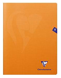 Cahier Clairefontaine Mimesys - 48 pages, 24x32 cm, orange