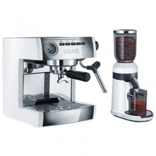 Cafetière expresso GRAEF ES 86 EU + moulin à café CM 81