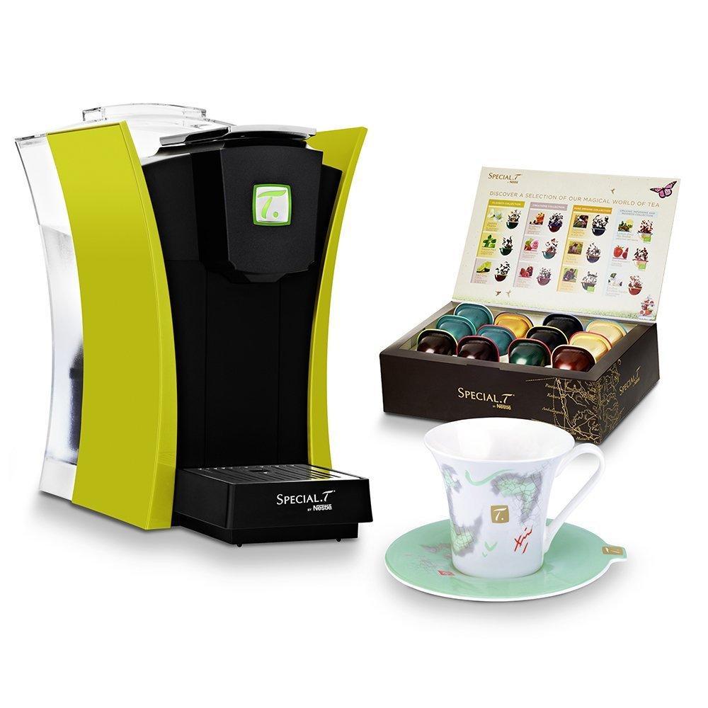 Machine Classik Special T verte + 12 capsules +1 tasse & sous-tasse + 1 filtre à eau