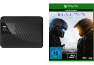"Disque dur externe 2.5"" USB 3.0 WD My Passport X pour Xbox One 2 To + Halo 5 : Guardians"
