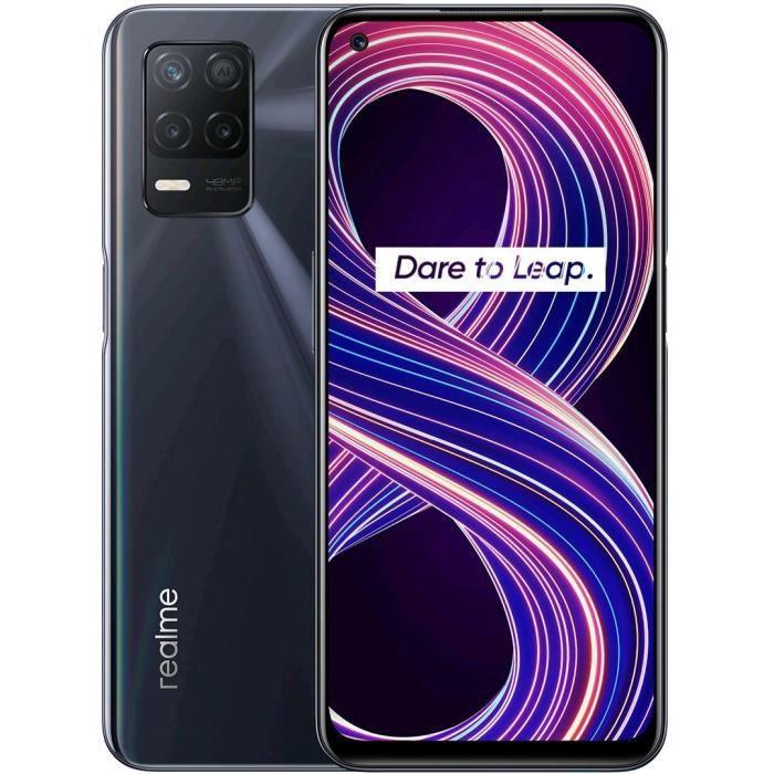 """Smartphone 6,4"""" Realme 8 5G - 90Hz, Dimensity 700 5G, 4 Go Ram, 64 Go, NFC"""