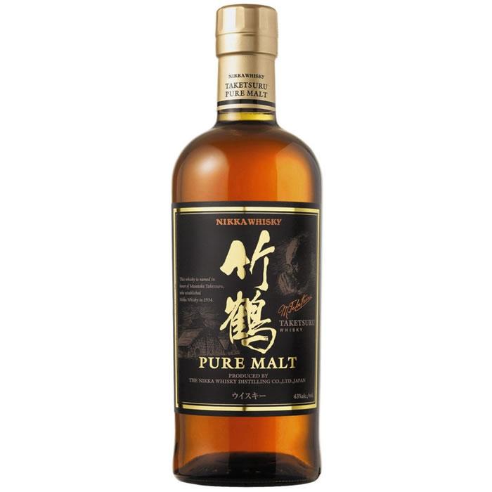 Whisky japonais Pur Malt Taketsuru Nikka 70 cl - St Grégoire (35)
