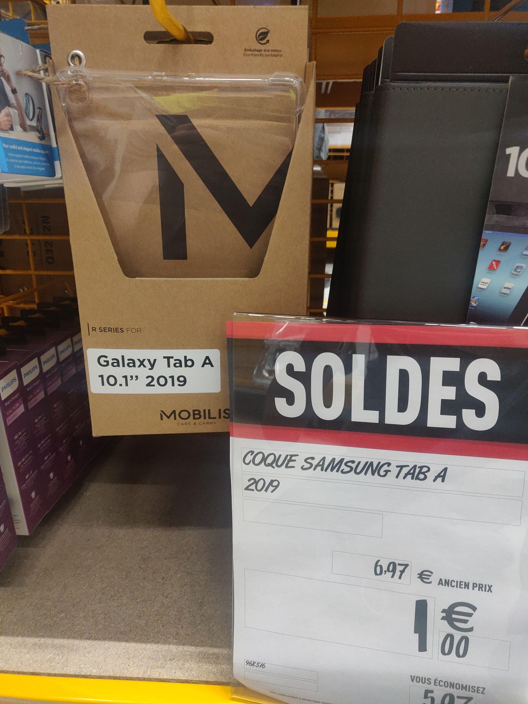 Coque de protection pour tablette tactile Samsung Galaxy Tab A 2019 Mobilis R Series - Chambray-lès-Tours (37)
