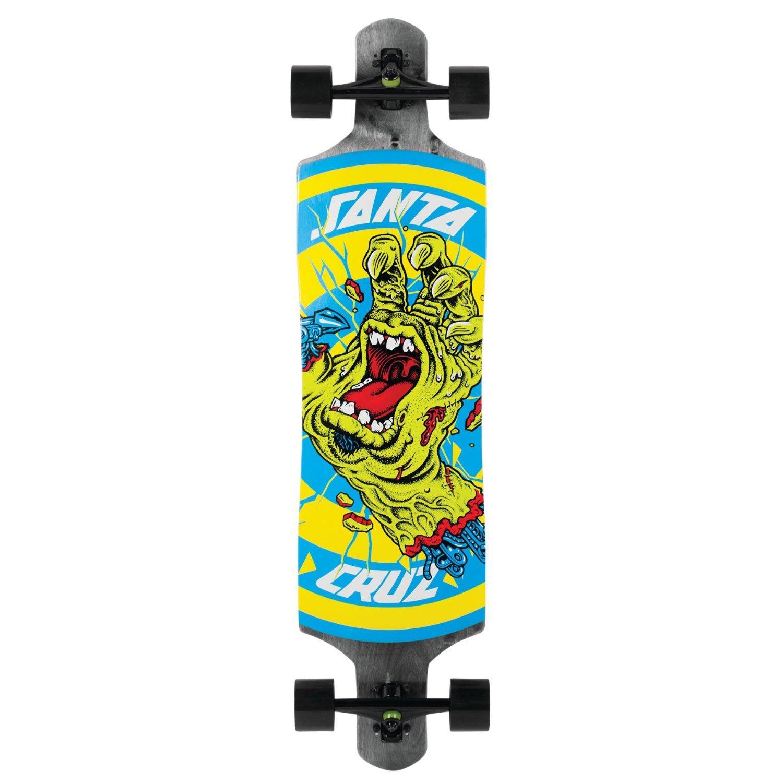 "Longboard Santa Cruz Rob Hand Foot Stop Black 40"""