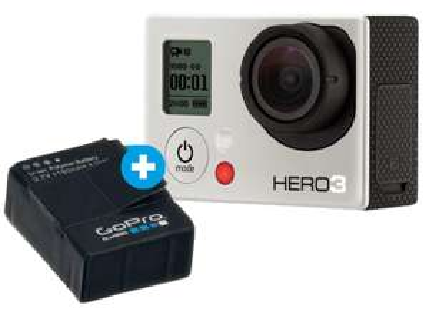 Camera GoPro Hero 3 Slim - Blanche