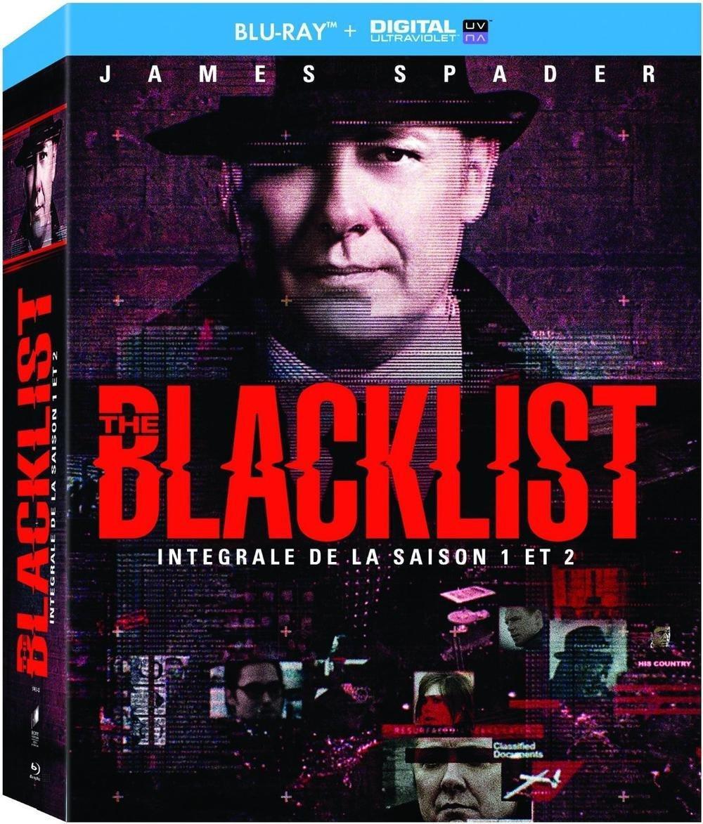 Coffret Blu-ray : The Blacklist Saisons 1 et 2