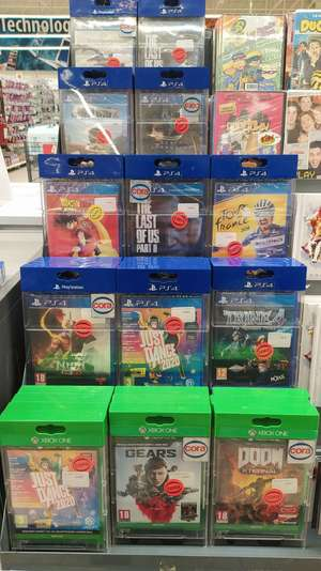 Sélection de jeux PS4 / Xbox One en promotion - Montbéliard (25)