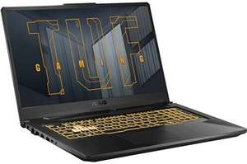 "PC Portable17.3"" Asus Tuf Gaming F17 TUF766HC-HX005T - Full HD 144 Hz, i7-11800H, 16 Go de RAM, 512 Go SSD, RTX 3050 (4 Go), Windows 10"