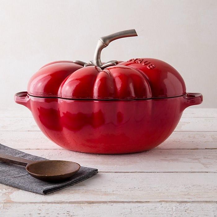 Cocotte ovale Zwilling Staub Tomate - Ø 25 cm, 2.9 L, 2 à 3 personnes, Tous feux dont induction