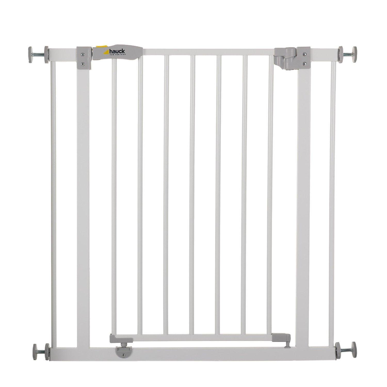 Barrière de sécurité Hauck Open'n Stop pour porte ou escalier - 74 x 4 x 77 cm