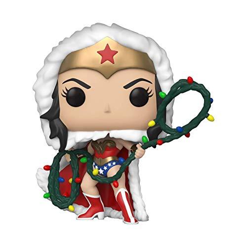 Figurine Funko Pop! Holiday Noël DC - Wonder Woman, Superman ou Flash