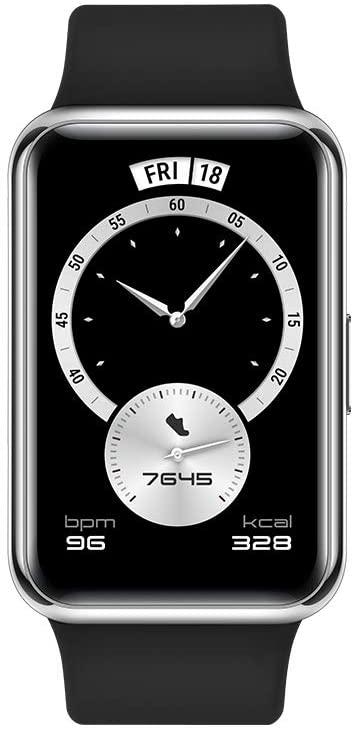 Montre connectée Huawei Watch Fit Elegant Edition - Noir (Sélection de magasins)