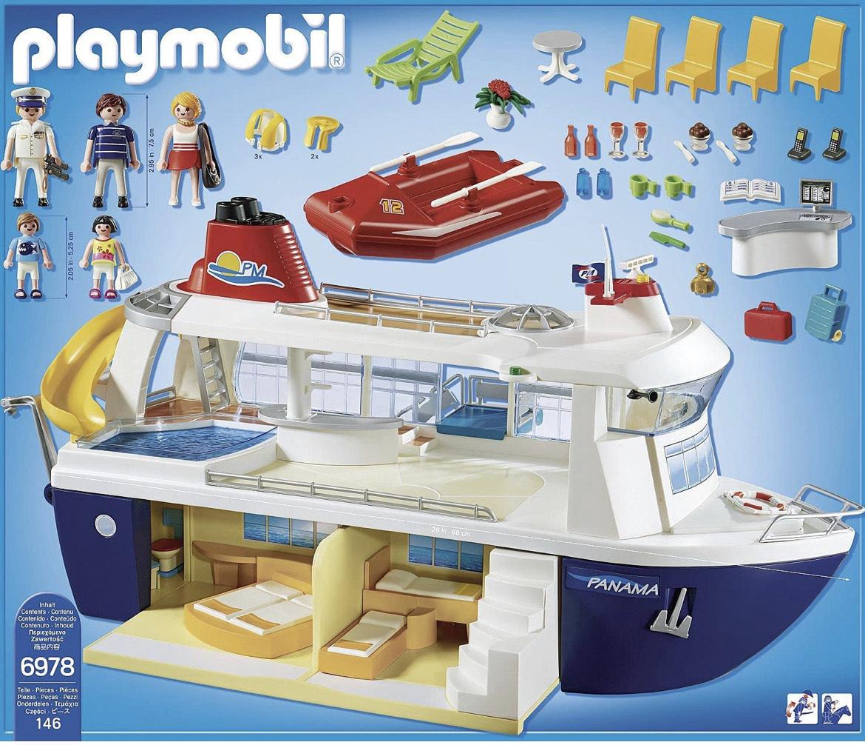 Jouet Playmobil 6978 - Bateau de Croisière