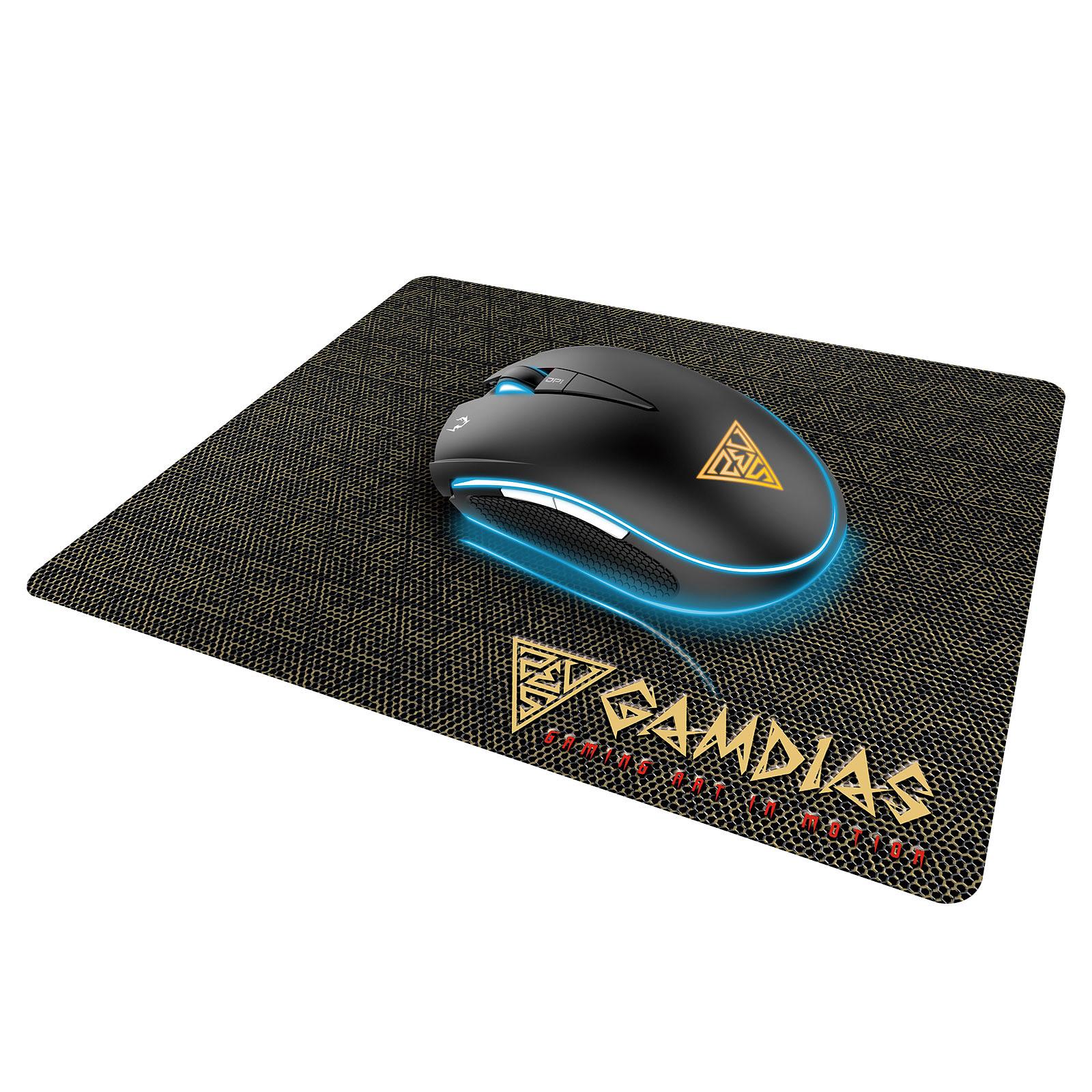 Souris gamer Gamdias Zeus E1 + Pad (Frais de port inclus)