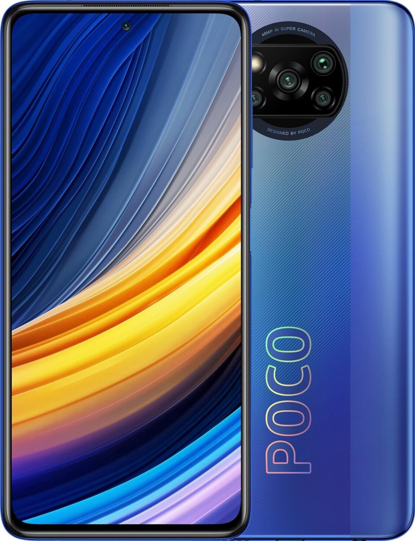 "Smartphone 6.67"" Xiaomi Poco X3 Pro - full HD+ 120 Hz, SnapDragon 860, 6 Go de RAM, 128 Go, différents coloris"