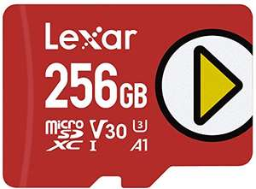 Carte MicroSDXC Lexar Play LMSPLAY256G-BNNAG - 256Go, UHS-I