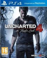 Uncharted 4 sur PS4 (avec 4€ en ticket Leclerc)