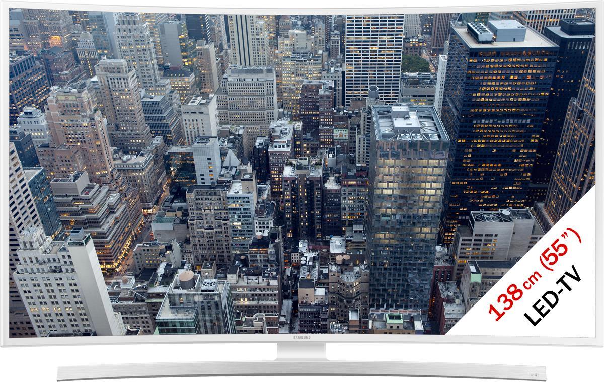 """TV 55"""" incurvée Samsung UE55JU6580 - 4K, LED"""