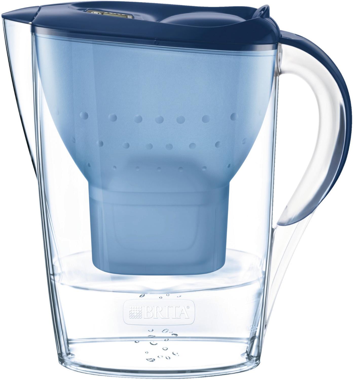Carafe filtrante Brita Fill & Enjoy Marella (bleu) - 2.4 L, avec 4 cartouches filtrantes (via retrait en magasin)