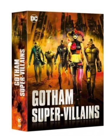 Coffret Blu-ray DC Gotham Super Villains - 6 Films animés