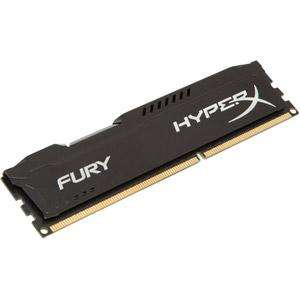 Barrette de RAM Kingston HyperX Fury Black DDR3-1600 CL10 - 8 Go