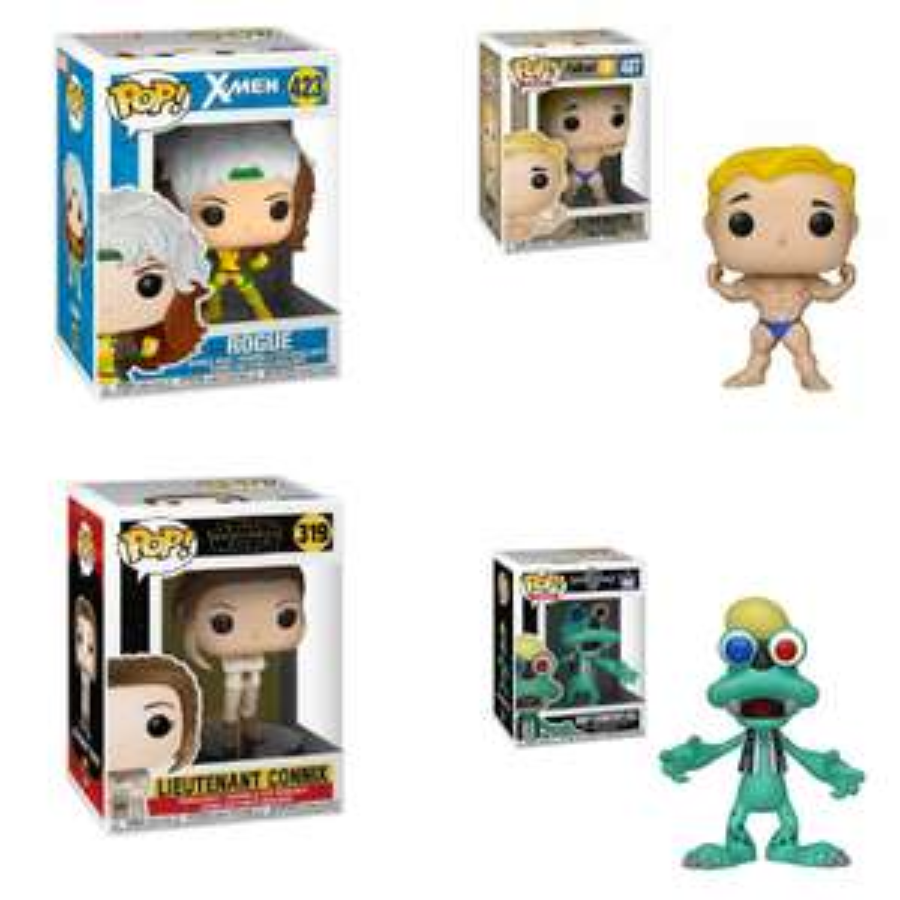 Sélection de figurines Funko POP en promotion - Ex : Funko Pop! X-Men, Star Wars, Kingdom Hearts ou Fallout