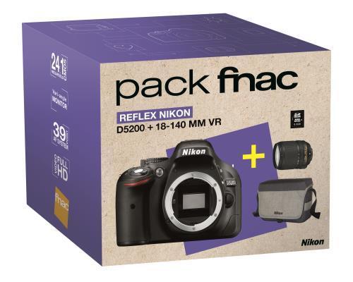 Pack reflex Nikon D5200