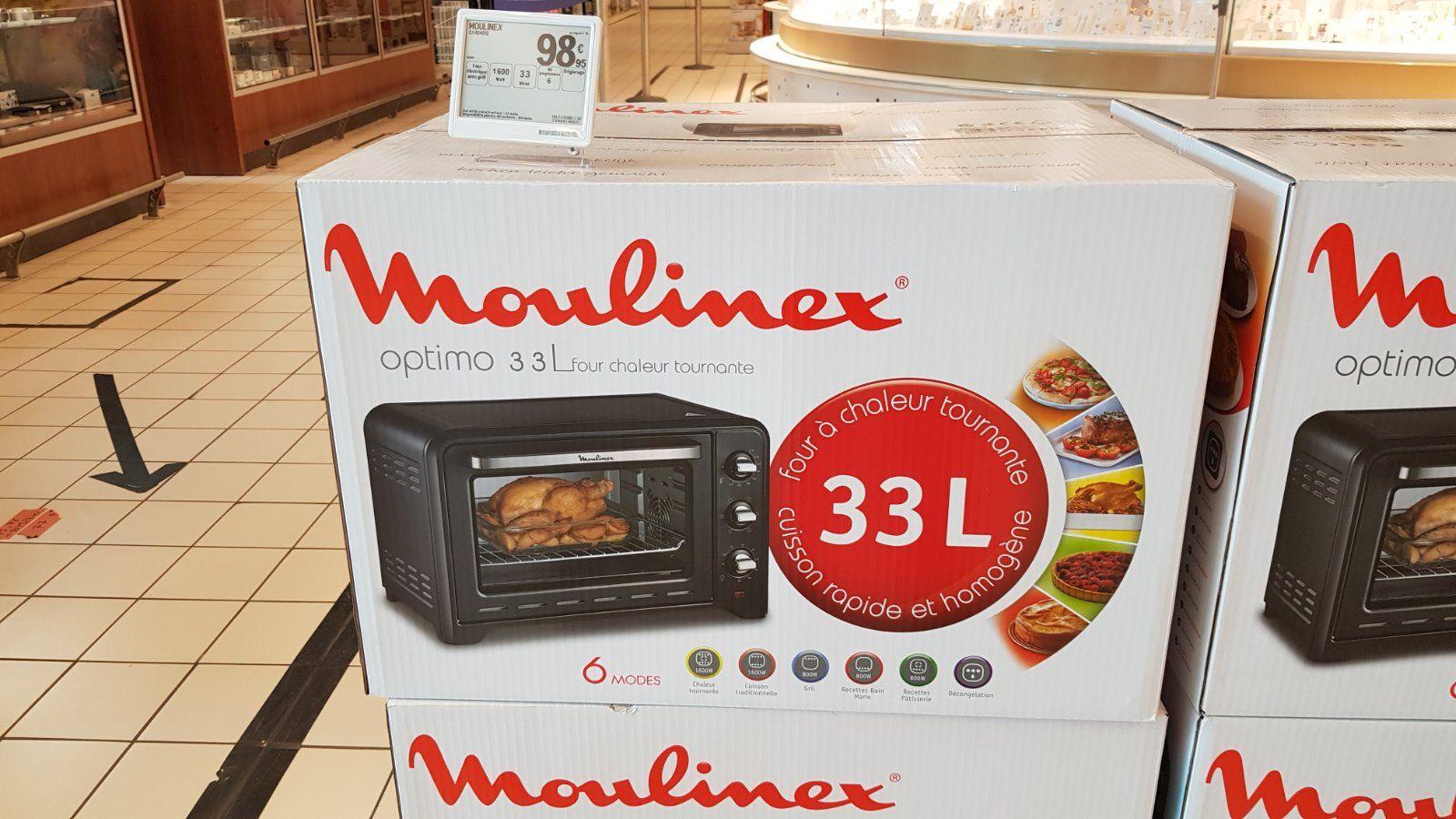 Mini four Moulinex Optimo 33l OX464810 - Salon de Provence (13)