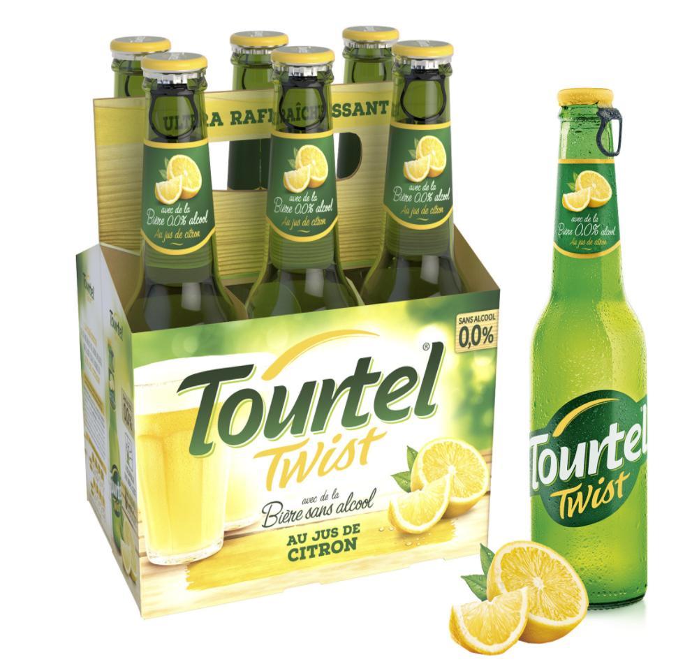 -30% sur les bières sans alcool Tourtel Twist - Ex : Tourtel Twist Citron 6 x 0.25cl