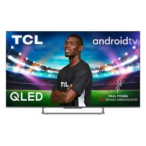 """TV 65"""" TCL 65C728 - 4K UHD, 100 Hz, HDR10+, Dolby Vision & Atmos, Smart TV"""