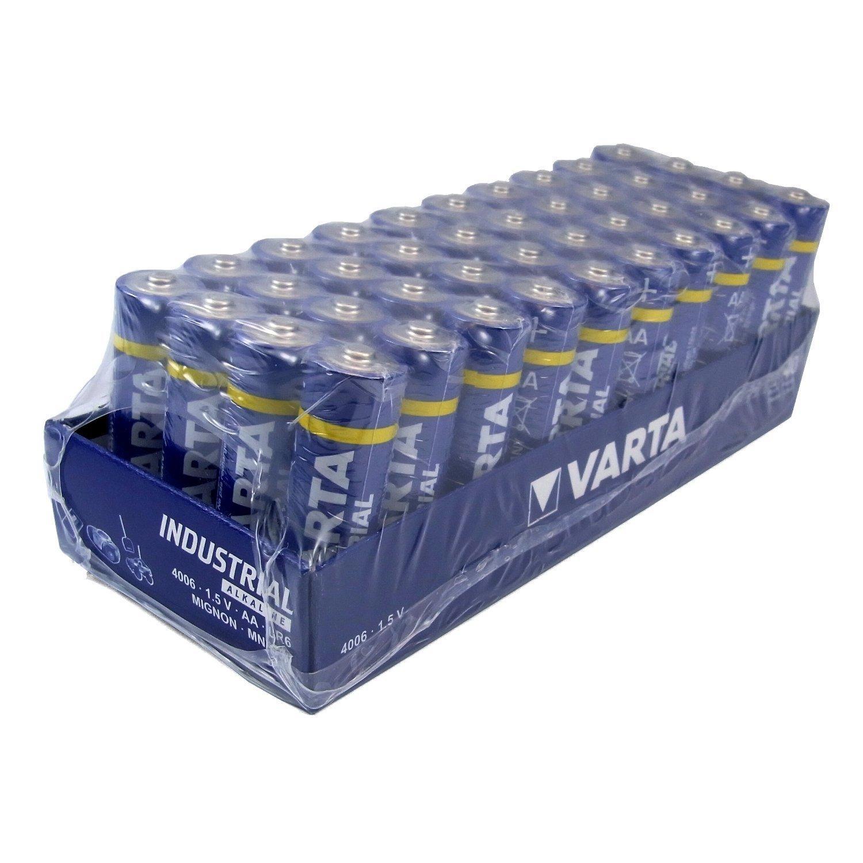 Lot de 40 Piles Varta - LR6/AA