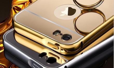 Coque métallique ultra-fine pour iPhone 5/5S ou Samsung Galaxy S6