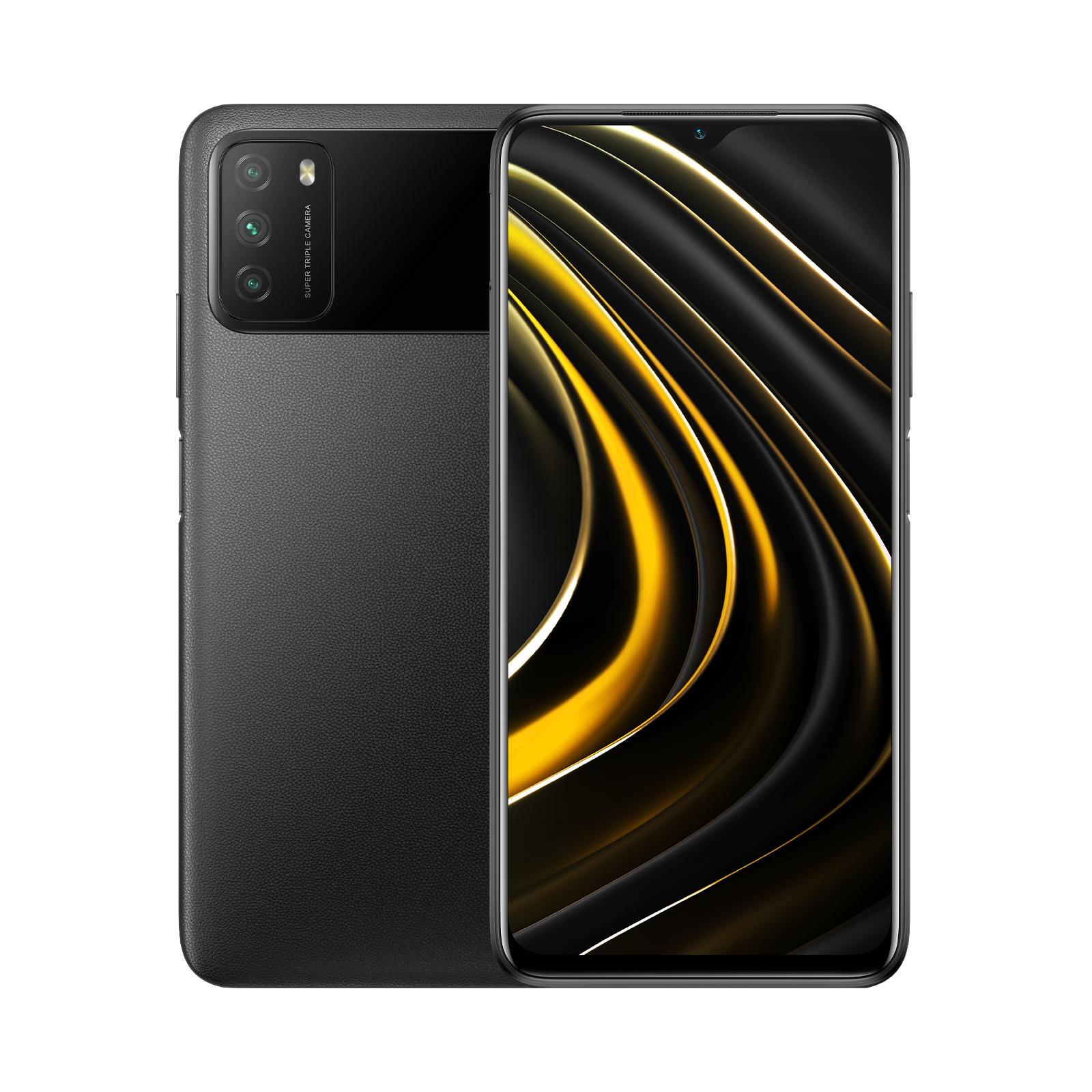 Smartphone Poco M3 - Noir, 64 Go, 4 Go de RAM