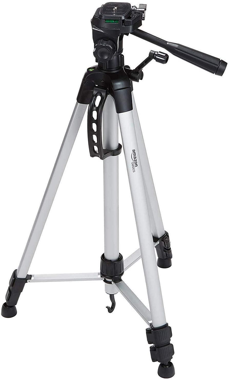 Trépied appareil photo Amazon Basics (152cm) + Sac inclus