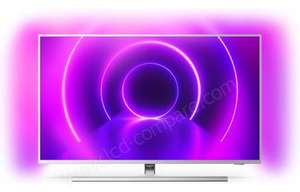 """TV LED 58"""" Philips 58PUS8505 - 4K UHD, Android TV, Ambilight 3 côtés (Frontaliers Suisse)"""