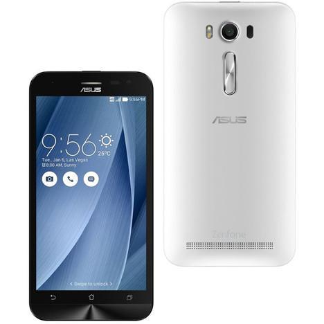 """Smartphone 5"""" Asus ZenFone 2 Laser (ZE500KL) - 8 Go, blanc"""