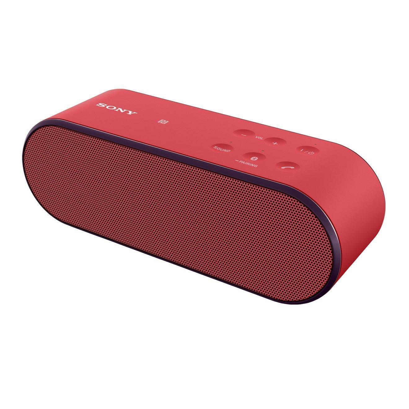 Enceinte bluetooth Sony SRS-X2 - 20 W, rouge
