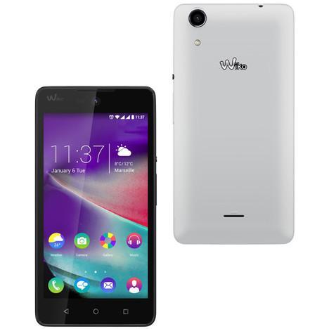"""Smartphone 5"""" Wiko Rainbow Lite 4G - 4 Go (via 15€ sur la carte Waaoh)"""