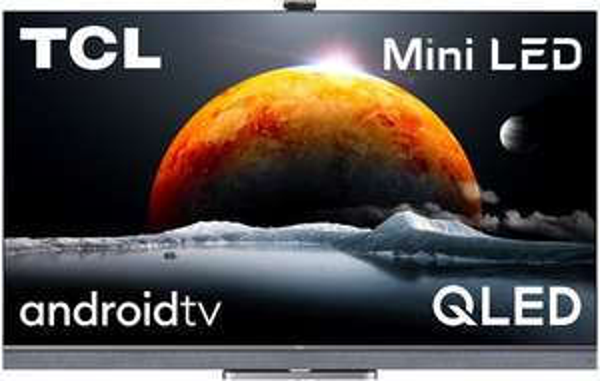 "TV MiniLED QLED 65"" TCL 65C825 - 4K UHD, 100 Hz, HDR10+, Dolby Vision IQ & Atmos, Smart TV, Barre de son Onkyo intégrée (Via ODR 150€)"