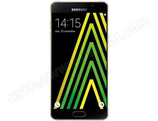 """Smartphone 5.2"""" Samsung Galaxy A5 2016 or (plus peut-être ODR de 50€)"""