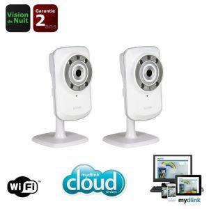 Dlink pack de 2 caméras IP Wireless DCS-932L