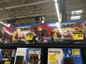Pack Rock Band 4: Band in a Box Bundle (batterie + guitare)